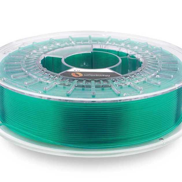Fillamentum PLA Crystal Clear Smaragd Green 1.75mm 750g
