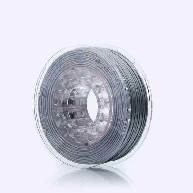 Smooth ABS filament Silver Shine 1.75mm 200g