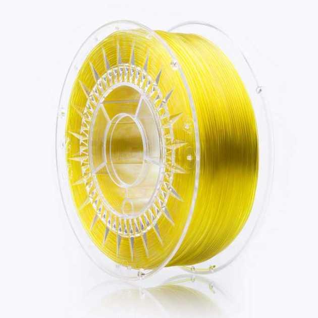 Swift PETG filament Yellow Glass 1.75mm 1000g