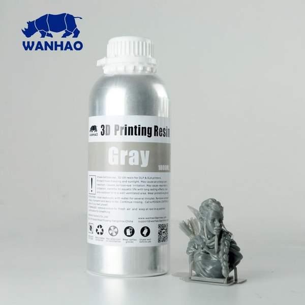 STANDARD UV Resin GREY 1000ml - WANHAO
