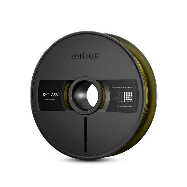Zortrax Z-GLASS filament Neon Yellow 800g