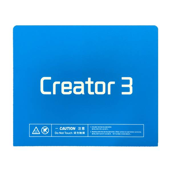 Flashforge Creator 3 - Samolepilna podloga za tiskanje