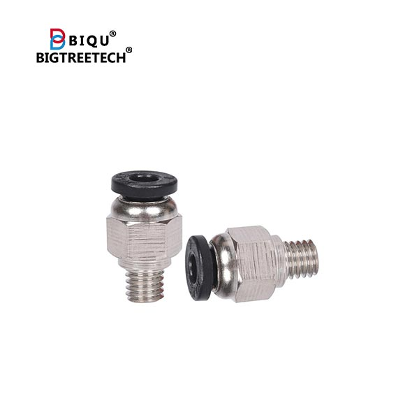 BIQU 3D B1 Bowden Tube Push Fitting PC4-M6