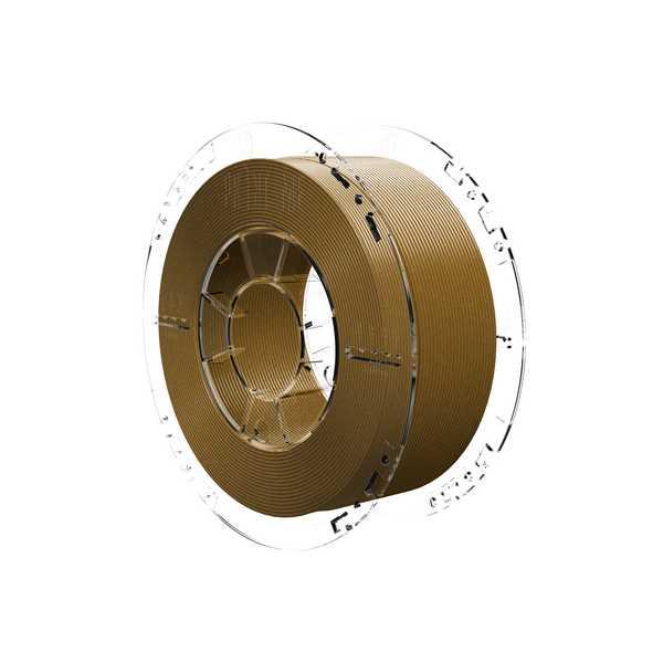 3Dshark PETG filament Antique Gold 1000g 1.75mm