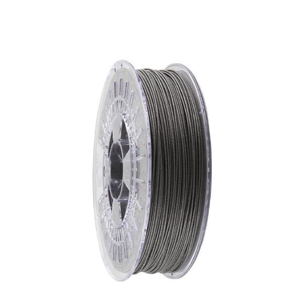 Metallic PLA filament Grey 1.75mm 750g