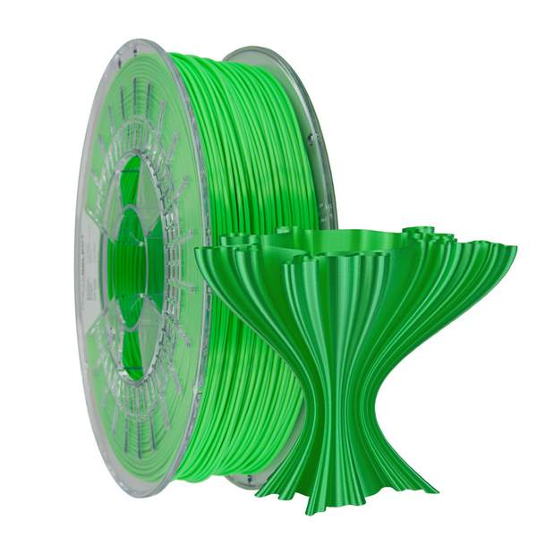 Satin PLA filament Light Green 1.75mm 750g