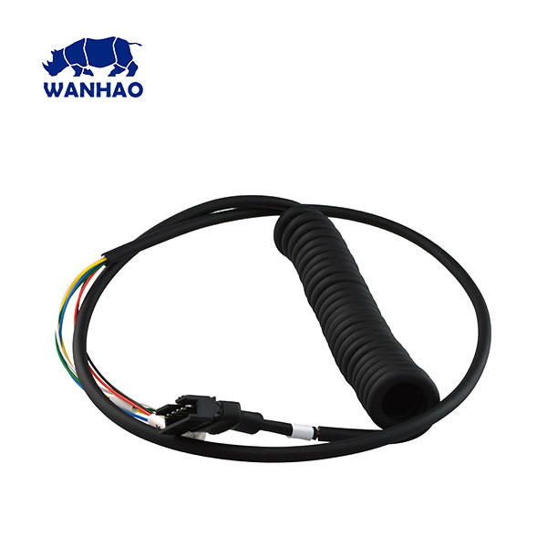 Wanhao D12 230 | 300 Extruder Spring Cable