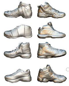 Quét 3D và thiết kế ngược giày thể thao