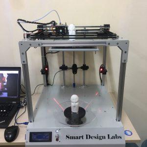 Sản phẩm 2 trong 1 – Máy in 3D tích hợp Máy quét 3D