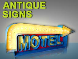 antique signs