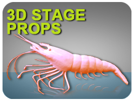 3D Stage Props