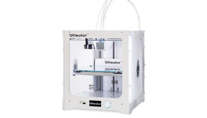 dual extruder 3d printer ultimaker 3