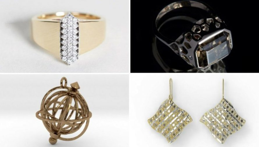 Top 10 Most Stunning 3D Printed Jewelry Pieces 2020