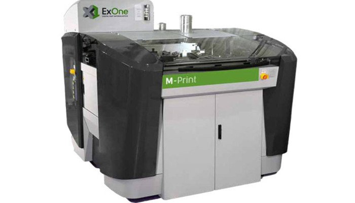 industrial 3d printer exone