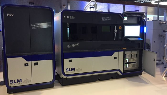industrial 3d printer slm solutions