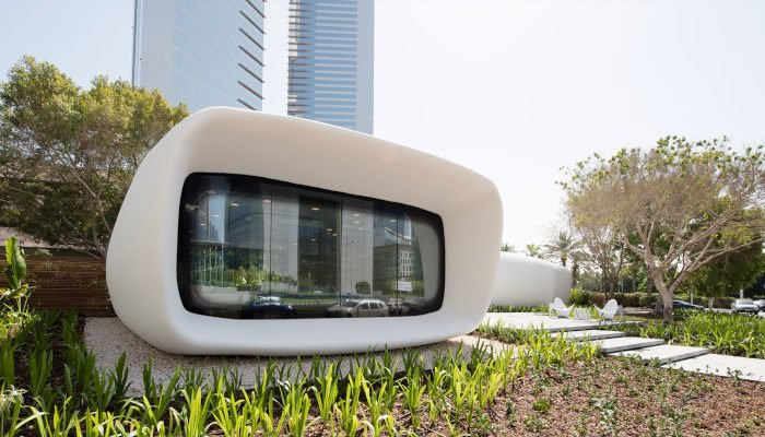 Dubai 3D printed house office