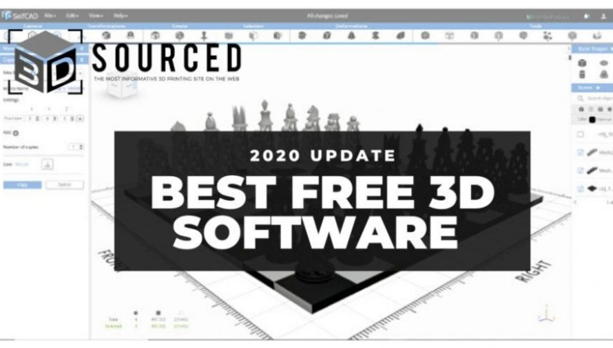 Top 10 Best Free 3D Modeling Software (For Beginners) 2020