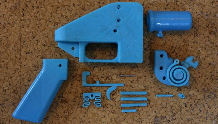 3d printed gun liberator defense distributed