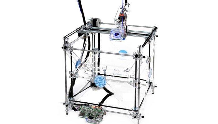 history of 3d printing bfb rapman fdm 3d printer diy kit