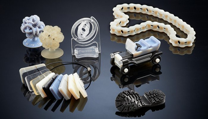 polyjet 3d printing printed parts by material jetting