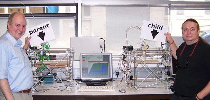 history of 3d printing reprap darwin 3d printer