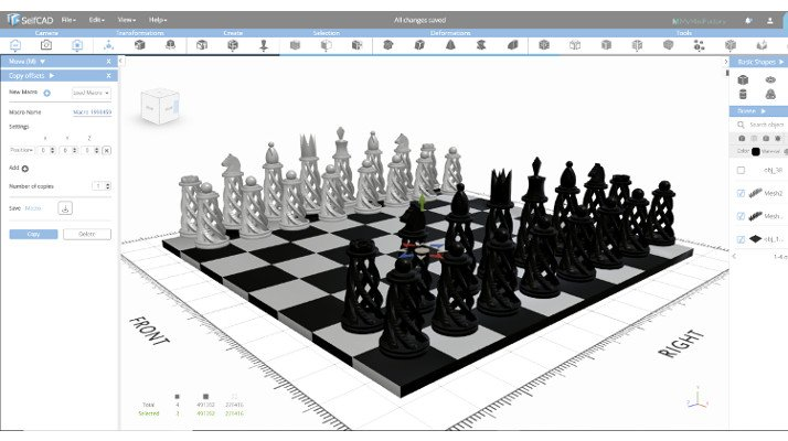 selfcad free 3d software