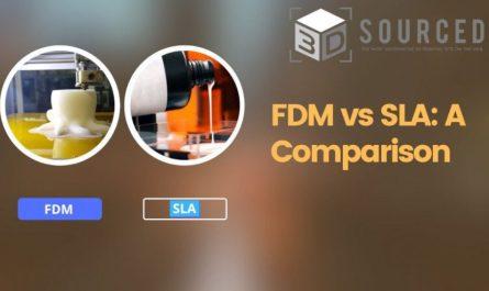 fdm vs sla 3d printing comparison guide cover