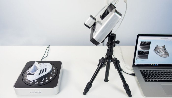 shining 3d einscan sp scanner