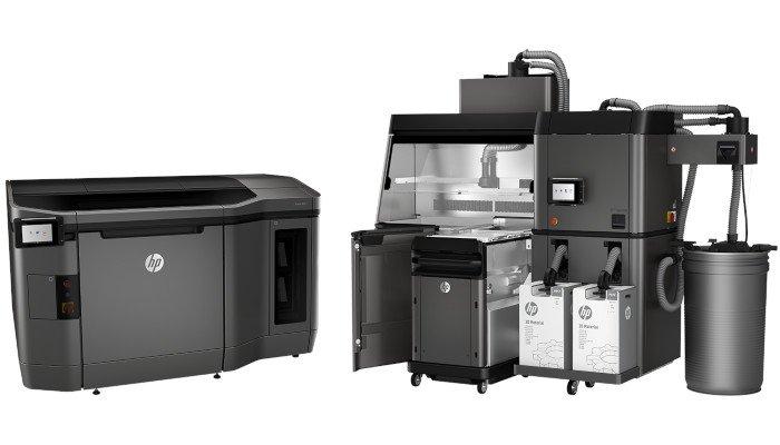 hp 3d printing stock