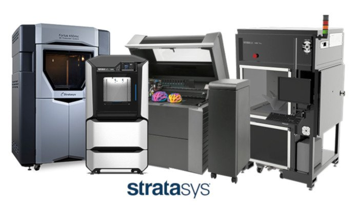 stratasys 3d printer range