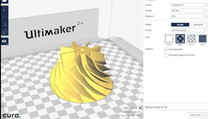 ultimaker cura 3d slicer printer software