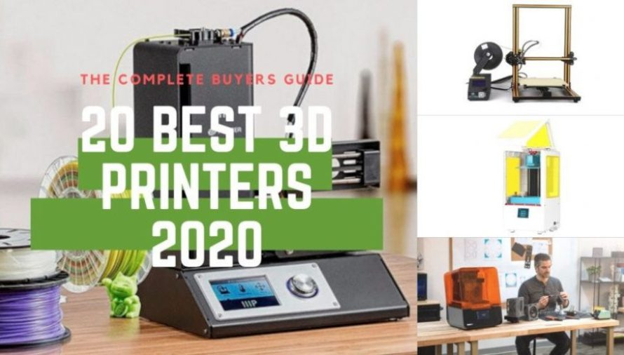 The 20 Best 3D Printers For ALL Price Ranges! (Sep 2020 Update)