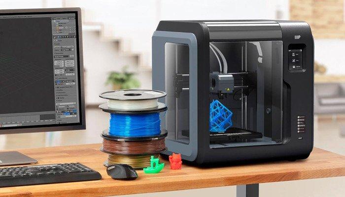 monoprice voxel cheap 3d printer