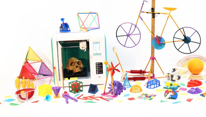 robo e3 education printer for schools
