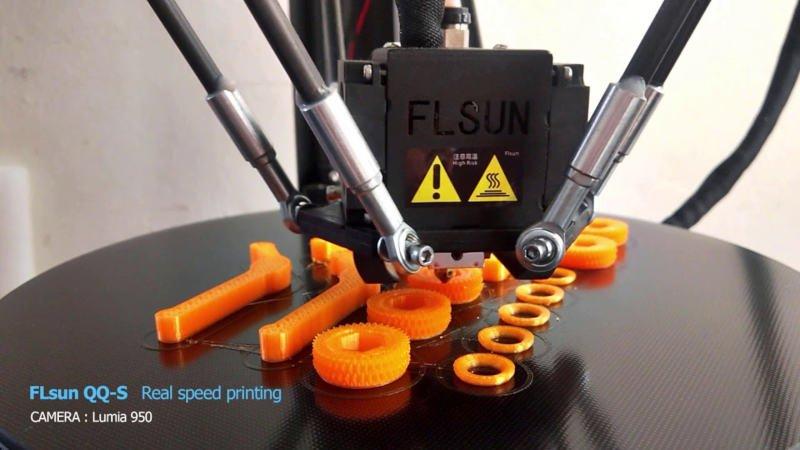 flsun qq-s during printing