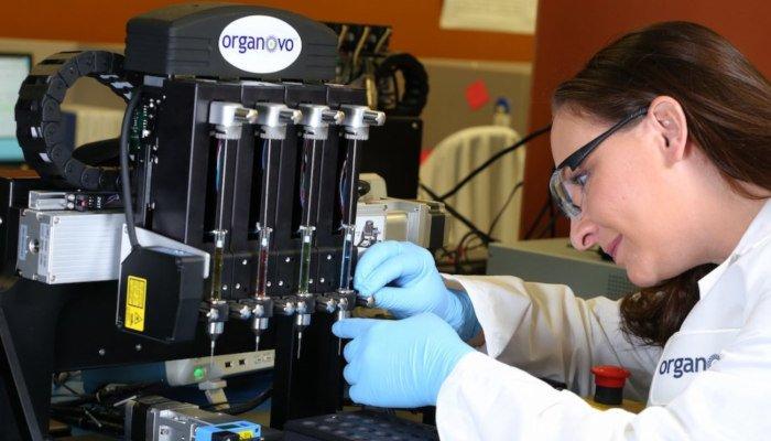 organovo 3d printing bioprinting company