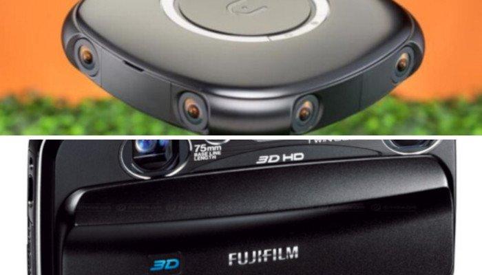 360 cameras vs 3d cameras