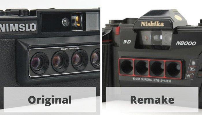 nimslo 3d vs nishika 3d camera