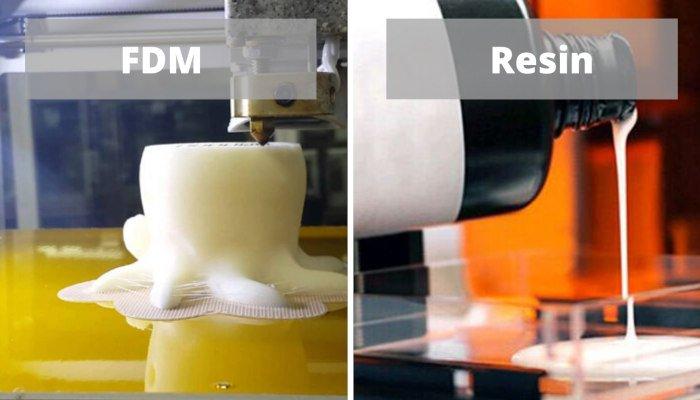 resin vs fdm 3d printing for miniatures