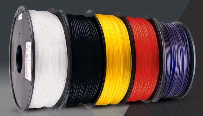 petg filament spools