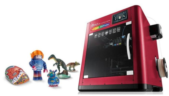 xyzprinting da vinci color full color 3d printer