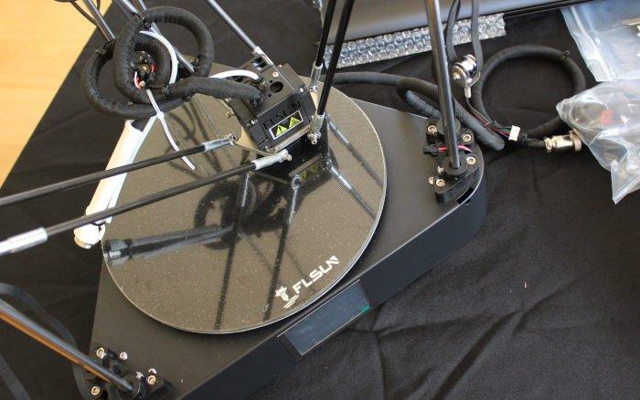 assembling flsun qq-s 3d printer