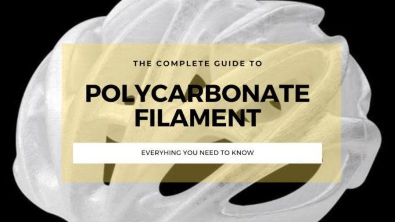 polycarbonate filament pc 3d printing guide