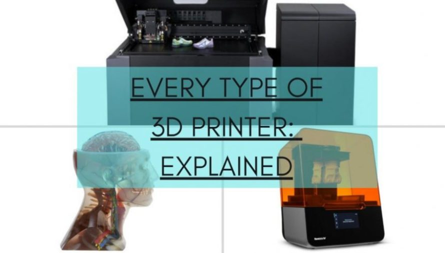 The 10 Main Types of 3D Printer Explained