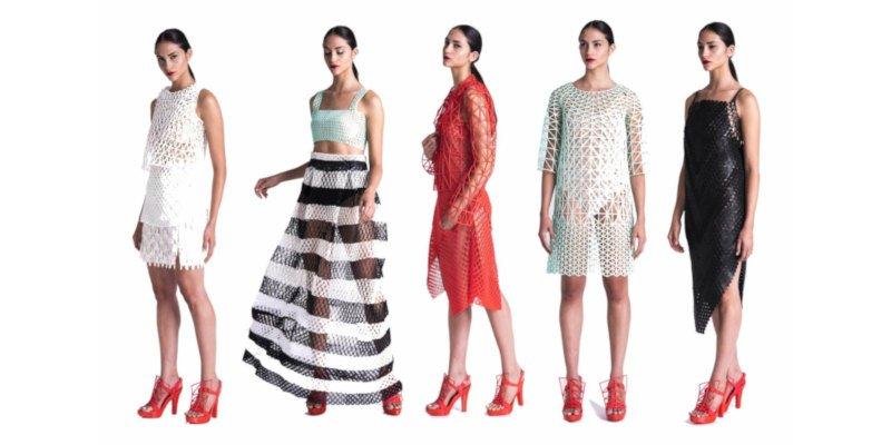 danit peleg 3d printed fashion collection