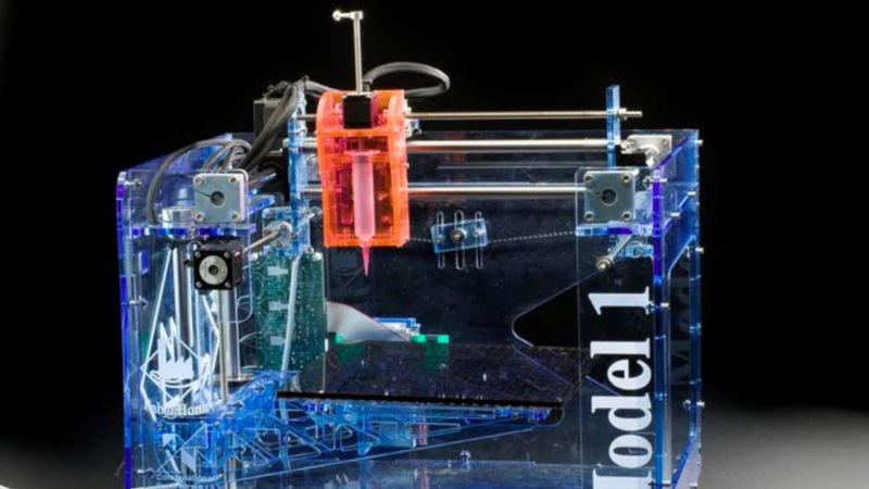fabathome first 3d printer capable of printing edible materials