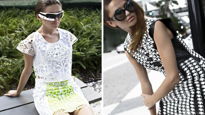 julia daviy liberation 3d printed fashion collection