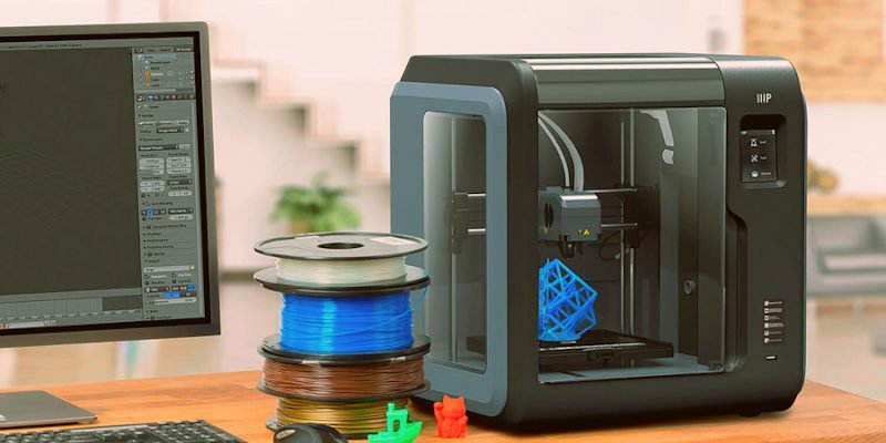 monoprice voxel great 3d printer for kids