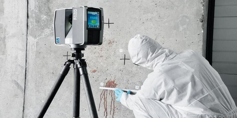 3D scan forensics