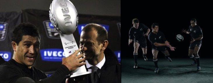 consegna trofeo iveco all blacks